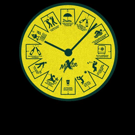 Galería: Toalla horaria
